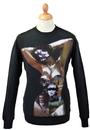 FLY53 FLY 53 CONJURE VINTAGE RETRO PIN UP SWEATER