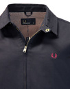 FRED PERRY CABAN JACKET J7210 608 NAVY
