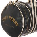 FRED PERRY Classic Retro Barrel Bag - Ivy Green