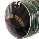 FRED PERRY Retro Colour Block Barrel Bag IVY/NAVY