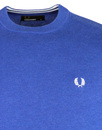 FRED PERRY Retro Mod Classic Crew Neck Sweater RB