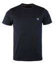 FRED PERRY M6334 248 CREW NECK T-SHIRT NAVY