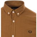 FRED PERRY Men's Micro Houndstooth Check Shirt