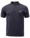 fred perry basic pique polo navy