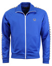 fred perry taped track top regal blue