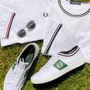 Underspin FRED PERRY Tipped Cuff Twill Trainers W