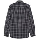 FRED PERRY Retro Cotton Twill Tonal Check Shirt