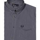 FRED PERRY Men's Retro Tonic Gingham Check Shirt