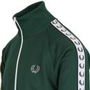 FRED PERRY Sports Tape Funnel Neck Track Jacket