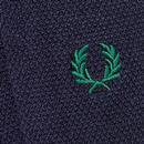 + FRED PERRY Retro Tipped Socks (Navy/Snow White)