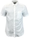 french connection SS oxford shirt white