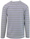 FRENCH CONNECTION Retro Nautical Stripe T-shirt