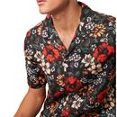 FRENCH CONNECTION Retro Floral Print Lyocell Shirt