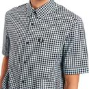 FRED PERRY Mod Short Sleeve Gingham Check Shirt BB