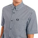 FRED PERRY Mod BD Gingham Short Sleeve Shirt (CB)