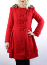 Christina Coat FRIDAY ON MY MIND Retro Mod Coat R