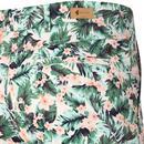 Jungle GABICCI VINTAGE Retro 70s Leaf Print Shorts