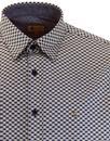 Goring GABICCI VINTAGE 60s Geometric Pattern Shirt