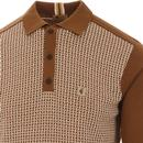 Weaver GABICCI VINTAGE Mod Basket Weave Polo (H)