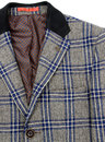 Winnie GIBSON LONDON Mod POW Check 3/4 Length Coat