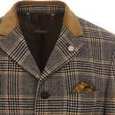 Vinnie GIBSON LONDON Mod Pow Check Dress Jacket C