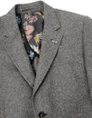 GIBSON LONDON 2 Button Grey Donegal Suit Jacket