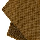 GIBSON LONDON Mod Woven Pocket Square in Gold