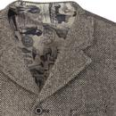 GIBSON LONDON Shetland Birdseye Blazer & Waistcoat