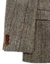 GIBSON LONDON 60s Mod POW Check 2 Button Blazer