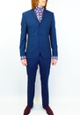 3 Button Marriott GIBSON LONDON 60s Mod Suit (T)