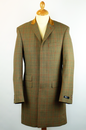 Vinnie GIBSON LONDON Mod Check Tailored Jacket (S)