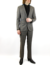 GIBSON LONDON RETRO MOD MARRIOTT SUIT CHECK