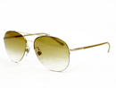 GIORGIO ARMANI RETRO 50S AVIATOR SUNGLASSES TOBACC