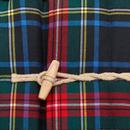 GLOVERALL X LOCHCARRON Padded Tartan Duffle Coat