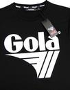 Dunne GOLA CLASSICS 1980's Chest Logo Tee - Black