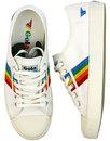 Coaster Rainbow GOLA Retro 1990s Canvas Trainers W
