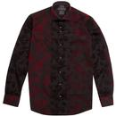guide London baroque paisley shirt black
