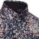 GUIDE LONDON Retro 60s Psychedelic Lava Shirt