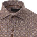 GUIDE LONDON Mod Floral Kaleidoscope Shirt (N/Y)