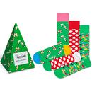 Happy Socks Holiday Christmas Tree Festive Sock Gift Set