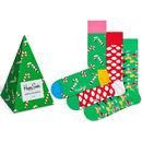 + Holiday Tree HAPPY SOCKS Christmas Sock Gift Box