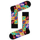 + HAPPY SOCKS x ROLLING STONES 3 Sock Gift Box