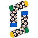 Happy Socks Sunny Side Up Fried Eggs Retro Socks