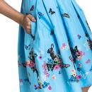 Cotton Tail HELL BUNNY Retro 60s Summer Dress