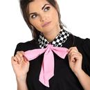 HELL BUNNY Pokerface Retro 60s Mod Blouse Top