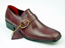 DELICIOUS JUNCTION HIPSTER BORDO BUCKLE SHOES MOD