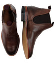 Tamper H BY HUDSON Mod Leather Chelsea Boots (DB)