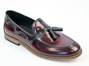H BY HUDSON TYSKA LOAFERS SHOES BORDO MOD SHOES