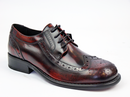 IKON ORIGINAL KROMBY BROGUES RETRO MOD SHOES BORDO