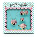 Blossom Bunny IRREGULAR CHOICE Jewellery Set Pink